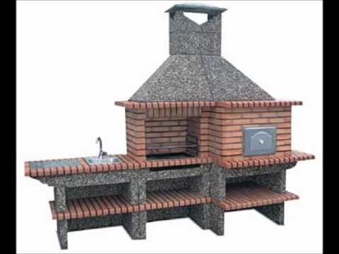 Brick Barbecue with Pizza oven AND SINK Oven from Portugal-BBQ Pit and Pizza Oven