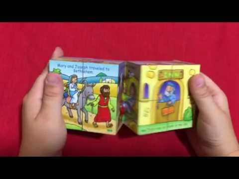 Birth of Jesus story cube