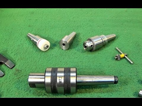 Make Extra Tapered Work Holding Ends For The MT2/MT3 Centre Set
