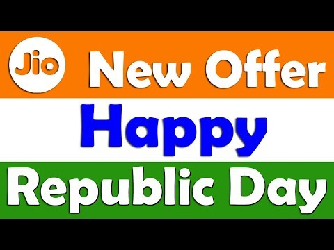Jio Happy Republic Day Offer 2018