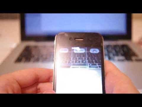Copy of Iphone 4 LED light won't turn off