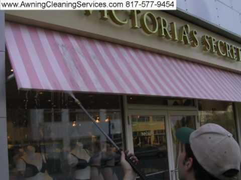 Awning Cleaning Before & After Pictures #6 Dallas Fort Worth TX 817-577-9454 Canvas Vinyl & Metal