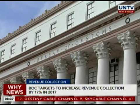 BOC targets to increase revenue collection by 17% in 2017