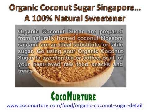 Coconut Sugar Singapore Natural Sweetness