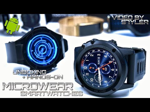 Microwear H1 / H2 / X2 / X3 Smartwatches | Unboxing + First Hands-On