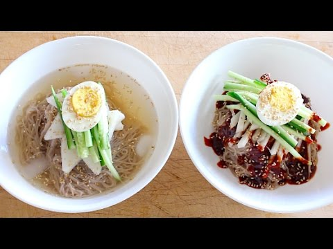 How to Fancy Up Your Instant Naengmyeon (Korean Cold Noodles)