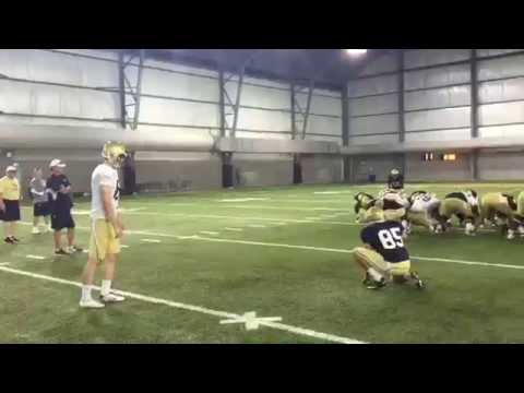 Butker Drills 4 Field Goals to End Practice Early