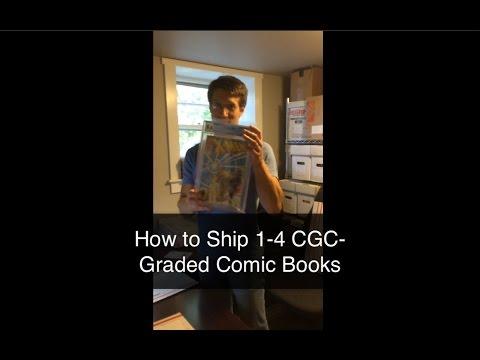 How to Ship CBCS or CGC Comic Books
