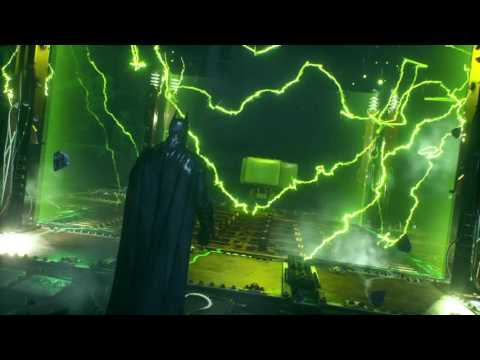 Arkham Knight Solved all Riddles Intro to Riddler's Robot