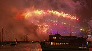 Welcome to 2018! Sydney New Year's Eve Fireworks (full version)