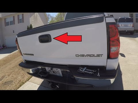 Chevrolet Silverado/GMC Tailgate Handle and Trim Install
