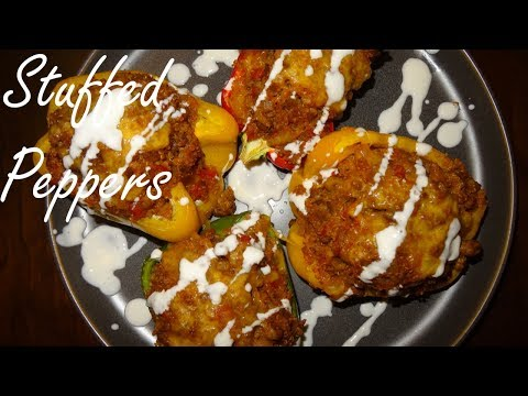 Stuffed Peppers - Easy Stuffed Bell Peppers