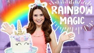 RAINBOW MAGIC - Official Song (Rosanna Pansino ft Schmoyoho)