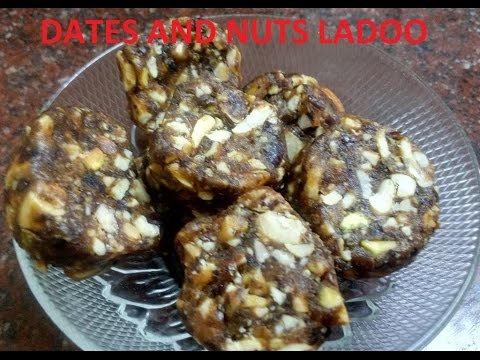 dates and nuts ladoo (Malayalam)