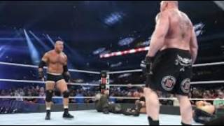 Goldberg vs Lesnar Title Match Wrestlemania 33 4/2/17