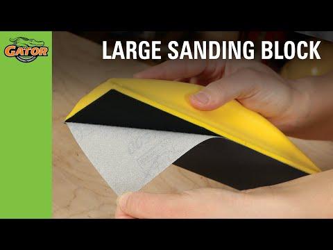 Finishing Made Easy - Zip Sanding Tool