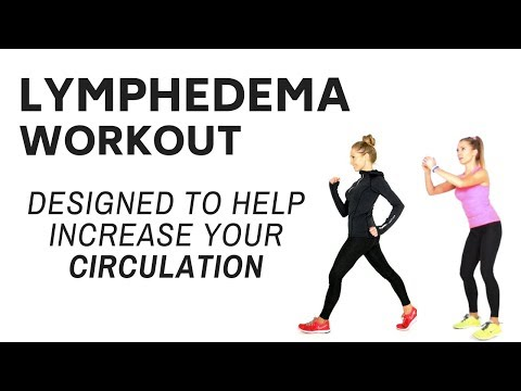 LYMPHEDEMA W0RKOUT - LOW IMPACT MOVES WITH LOWER BODY TONING & EXERCISES TO  INCREASE CIRCULATION