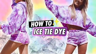 The BEST Way To Tie Dye That You HAVEN'T Tried