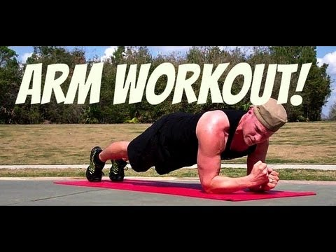 Advanced Arm Workout - No Gym Arm Exercises - Bodyweight Only Workout