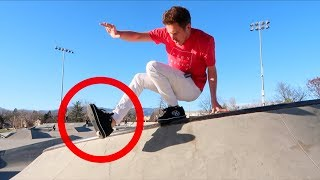 HEELYS AT THE SKATEPARK!