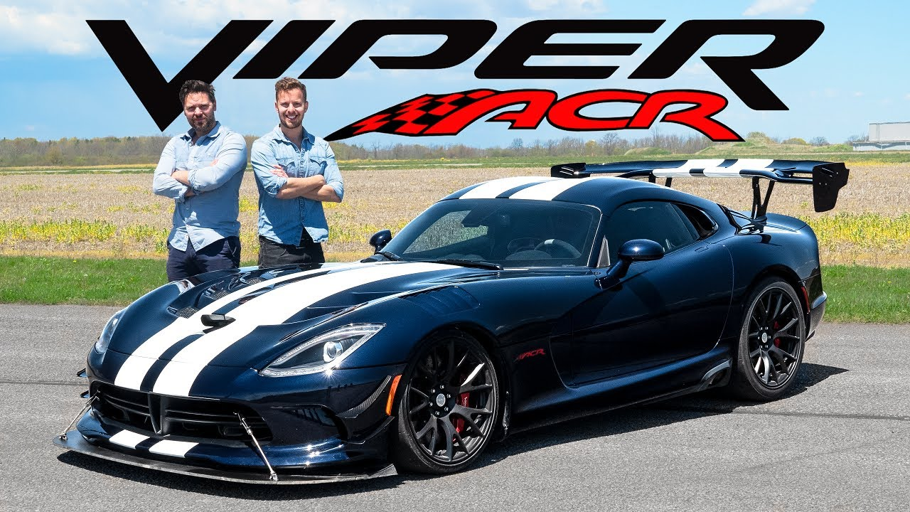 Dodge Viper ACR Review // How Is This Even Legal