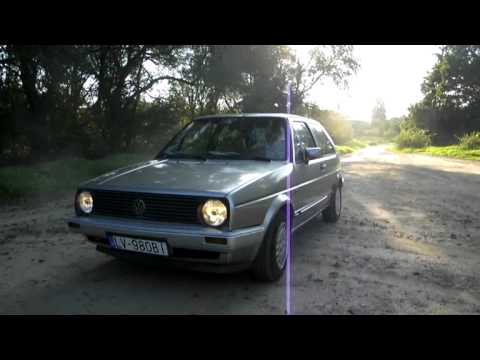 Volkswagen Golf 2 video