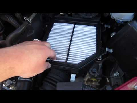 HOW TO CHANGE AIR FILTER 2006-2011 HONDA CIVIC NON SI