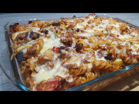 Tuna pasta bake, easy and cheap dinner