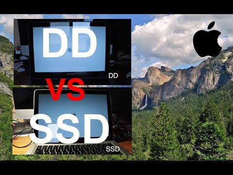 Comparaison DD VS SSD : MacBook Pro ( Test Samsung SSD 850 EVO )