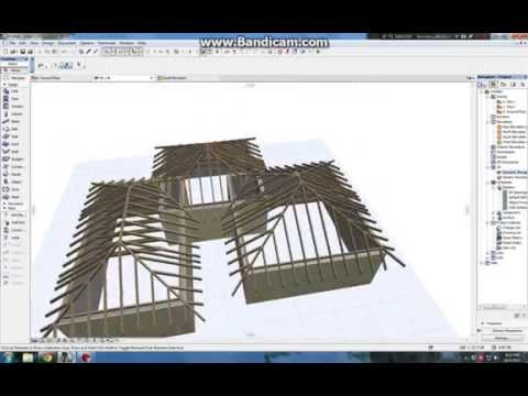 ARCHICAD 19 Roof maker