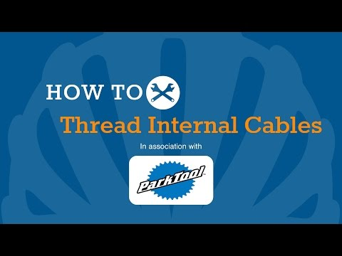 How To Thread Internal Brake & Gear Cables