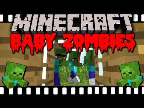 Minecraft 1.6 PSA: Baby Zombies are Thieves!