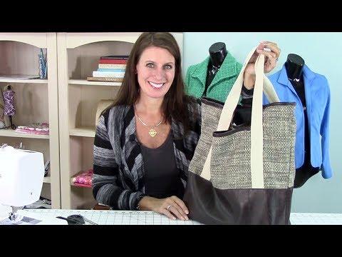 Video Sew-A-Long: Canvas Tote Bag: Part 1: Supplies