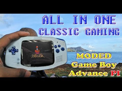 Electronic Projects - All in One Classic Gaming: Game Boy Adv. Raspberry PI  Part 1