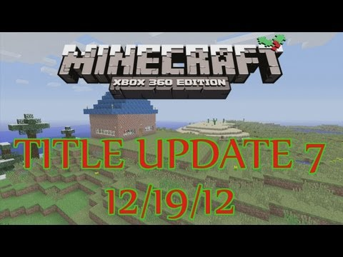 Minecraft Xbox Update 7