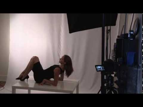 female model posing guide and techniques - see me in action - studio session
