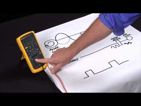 How to measure frequency and duty cycle with a multimeter