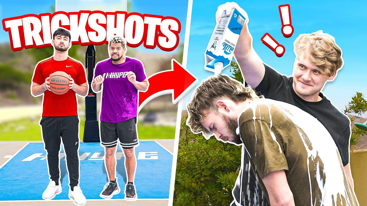 2HYPE Extreme Basketball Forfeit Challenge w/ LoveLiveServe
