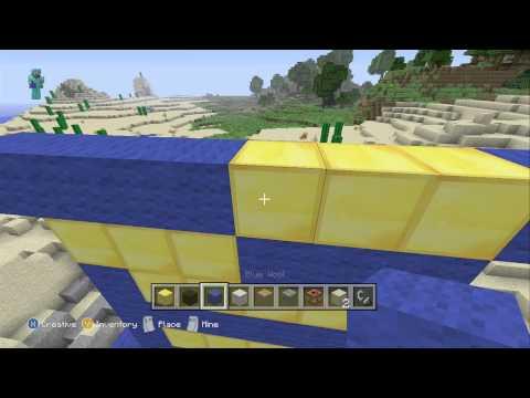 How to make Skylanders Giant Bouncer in Minecraft Part 1