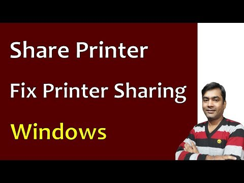 Printer Sharing Error 0x000006d9 - Printer sharing in windows 7 | Windows 8 (2018)