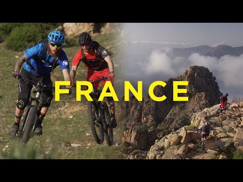 Riding E-Bikes in France