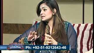 PM Online with Sadia Afzal and Waseem Badami on PTV News 31st May Part1.flv
