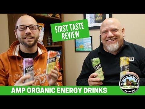 Amp Organic Energy Drink: 1st Taste Review