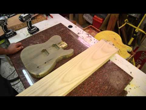Luthier Wood Review: Swamp and Northern Ash Guitar body wood tonewood
