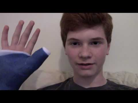 I Broke My Thumb!