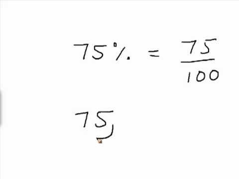 Converting Percent to Decimal (Urdu)