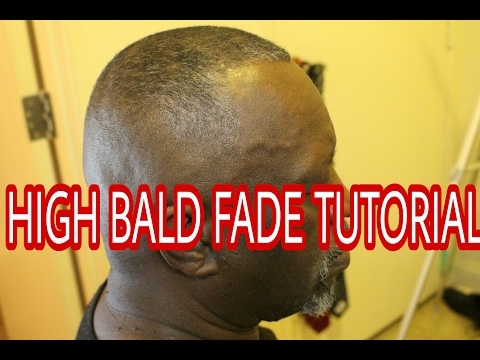 BARBER TUTORIAL HOW TO CUT A HIGH BALD FADE ANDIS MASTERS