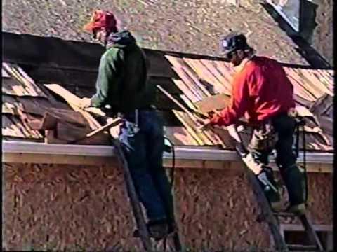 Roofing Cedar Shake Installation