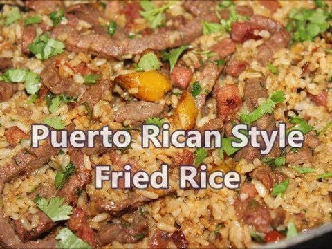 How to Make Puerto Rican Style Fried Rice Recipe [Episode 218]
