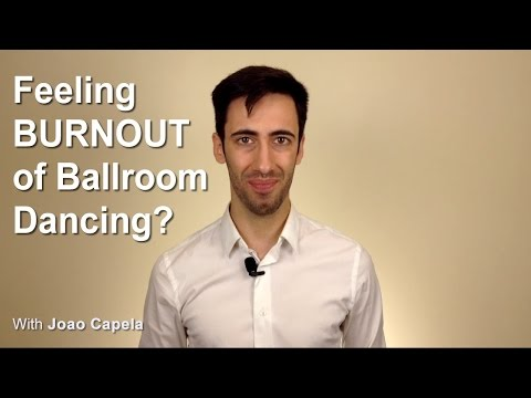 Feeling Burnout of Ballroom Dance? Know here what to do!